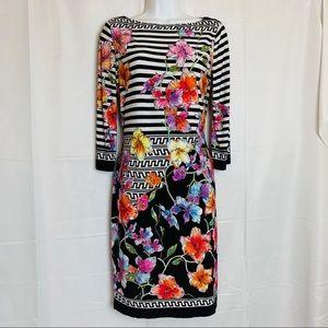 BEIGE by ECI Vibrant Shift Dress - 4